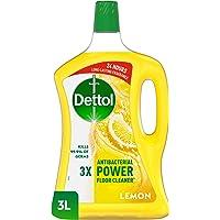 منظف ديتول القوي للأرضيات المضاد للبكتيريا برائحة الليمون، 3 لتر