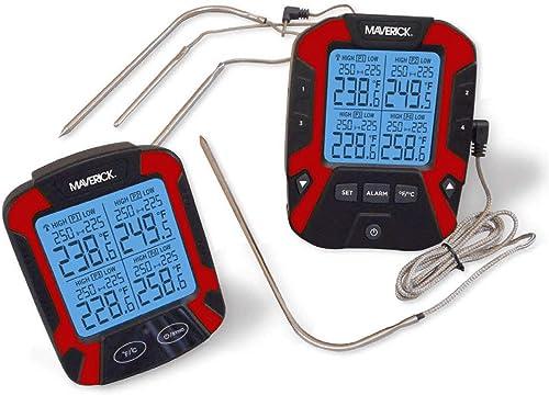 Maverick-XR-50-Extended-Range-Digital-Remote-Wireless-4-Probe-BBQ-&-Meat-Thermometer
