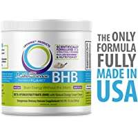 BHB Salts Exogenous Ketones Supplement, The only Formula Made Fully in USA, Natural Great Tasting Orange Cream Flavor