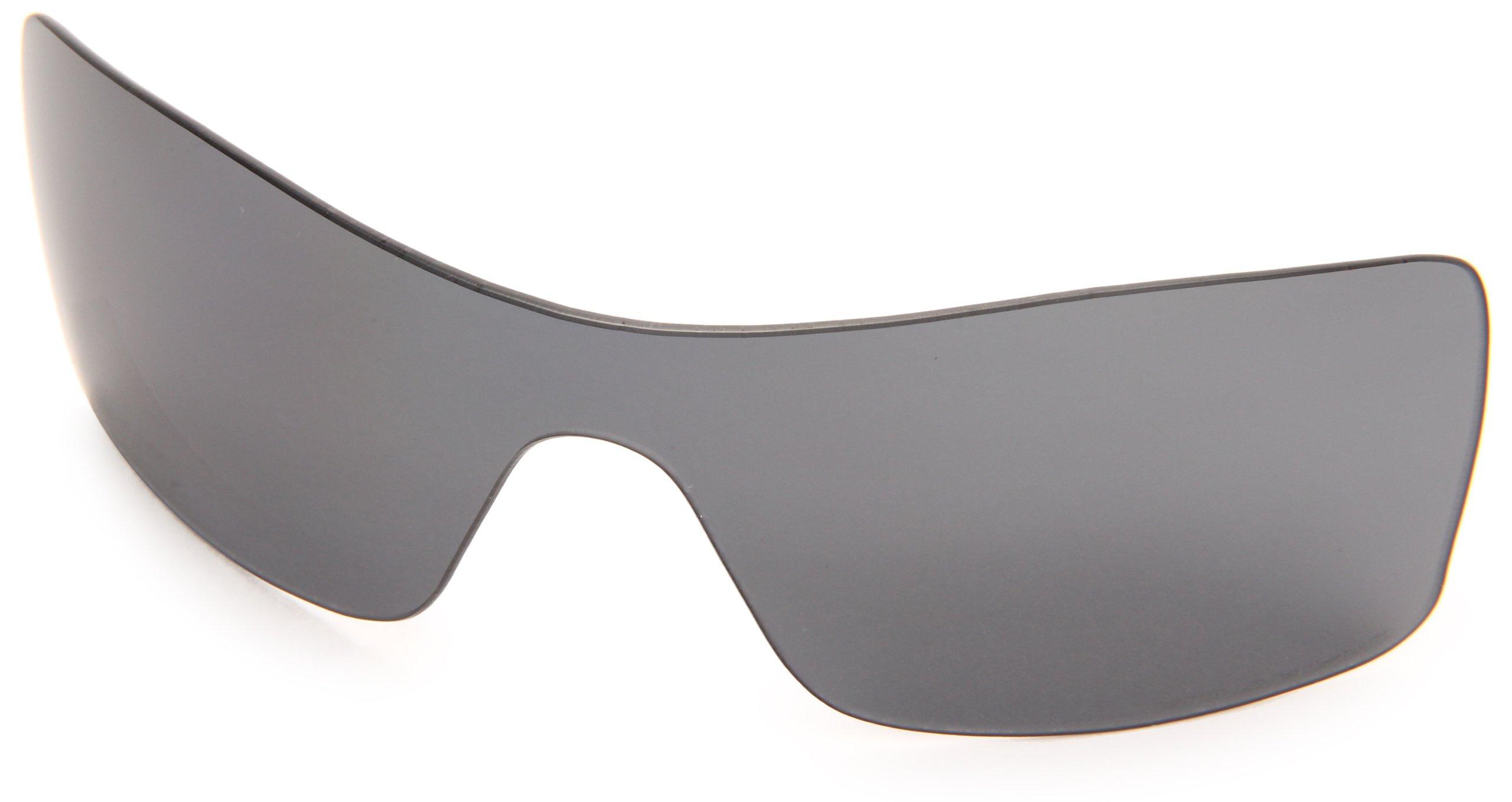 Oakley Batwolf 43-357 Polarized Replacement Lens Kit,Multi Frame/Grey Lens, 127mm