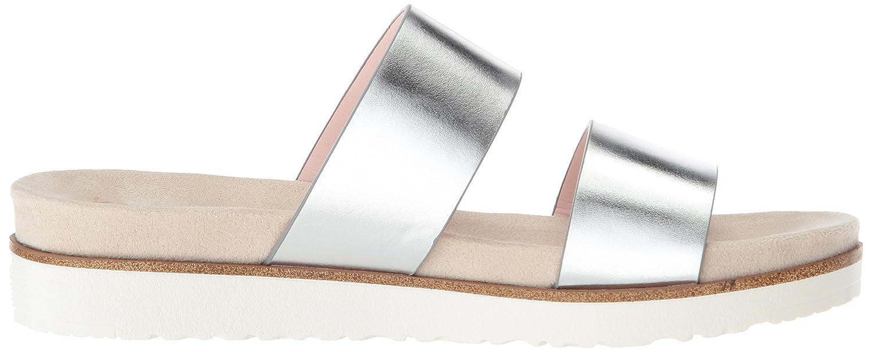 kensie Women's Dominic Slide Sandal B07822VWRS 9 B(M) US|Silver
