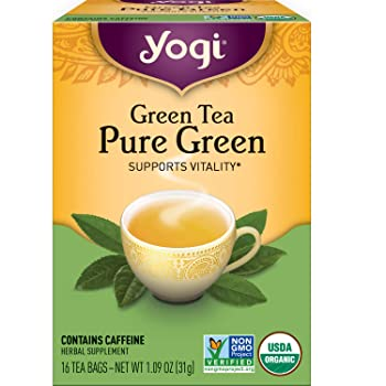 Yogi Pure Green Tea (6-Pack)