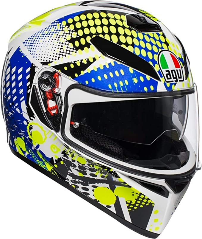 Amazon.es: AGV K3 SV Pop Casco De Moto De Cara Completa Tamano L