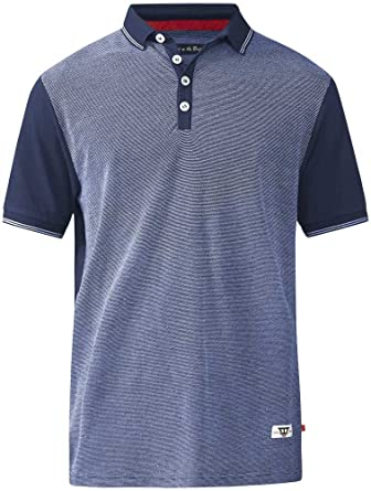 Duke Fashion Polo Shirt 4XL NAVY: Amazon.es: Ropa y accesorios