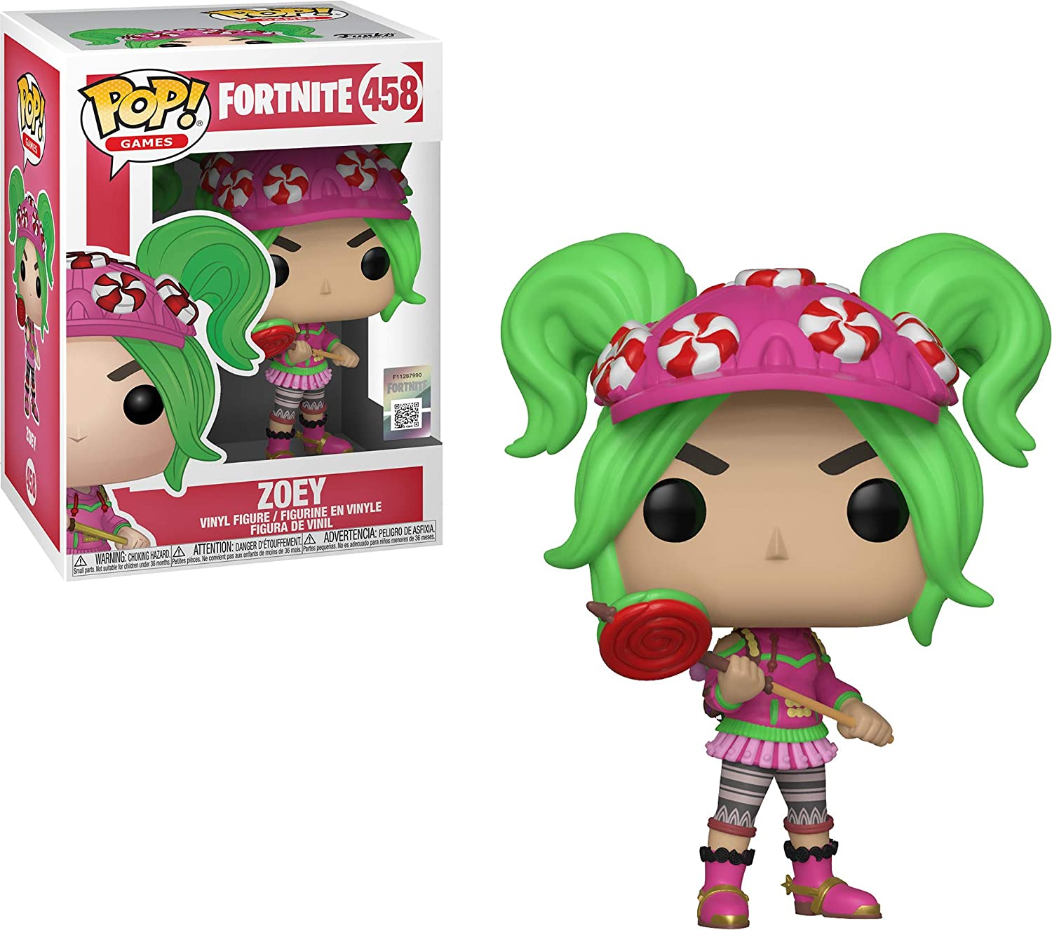 Funko Figura Pop Fortnite: Zoey, Multicolor, Talla única (36019)