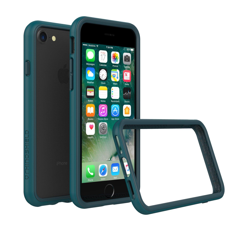 RhinoShield Estuche Parachoques para iPhone 8 / iPhone 7 [CrashGuard] | Cubierta Protectora de diseño Delgado con amortiguación [Protección de caída de 3.5 ...
