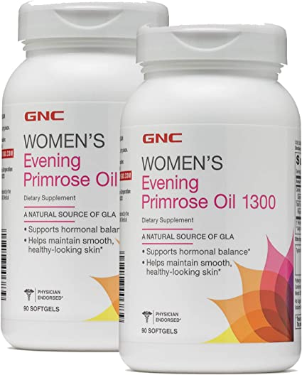 GNC Womens Evening Primrose Oil 1300 90 Capsules