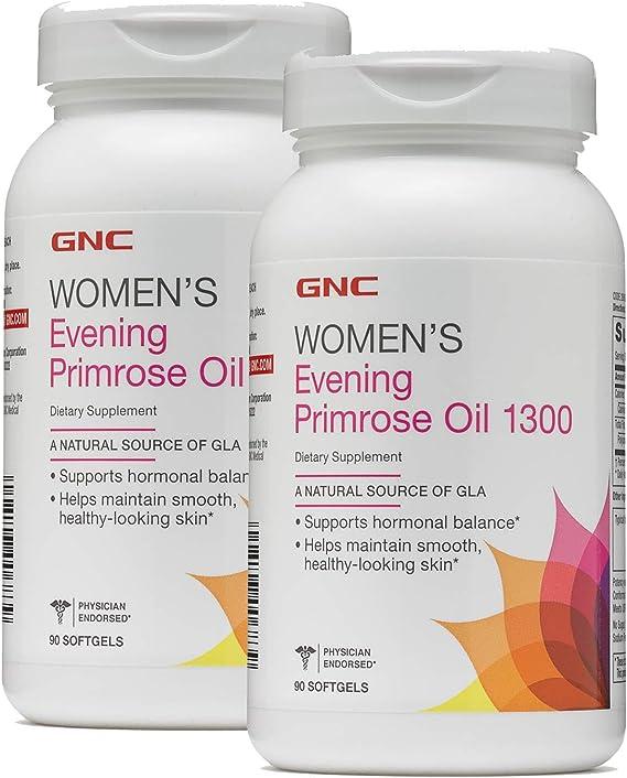 Amazon.com: GNC Mujer Primavera (Primrose Oil 1300 90 ...