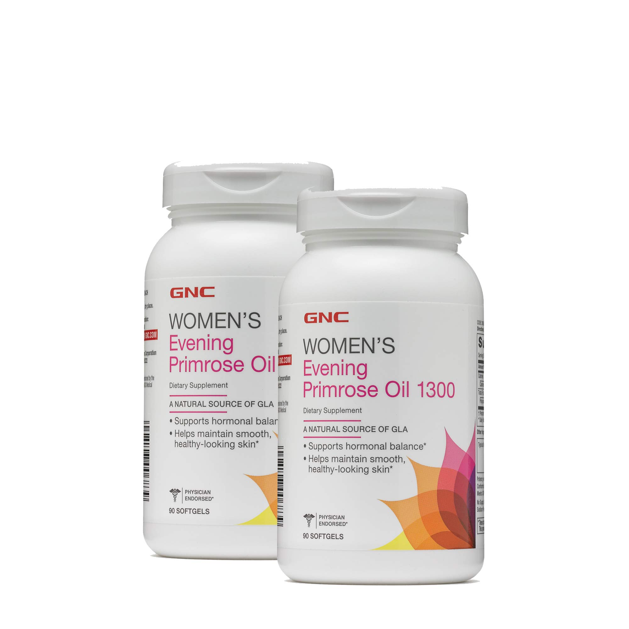 GNC Womens Evening Primrose Oil 1300 - Twin Pack