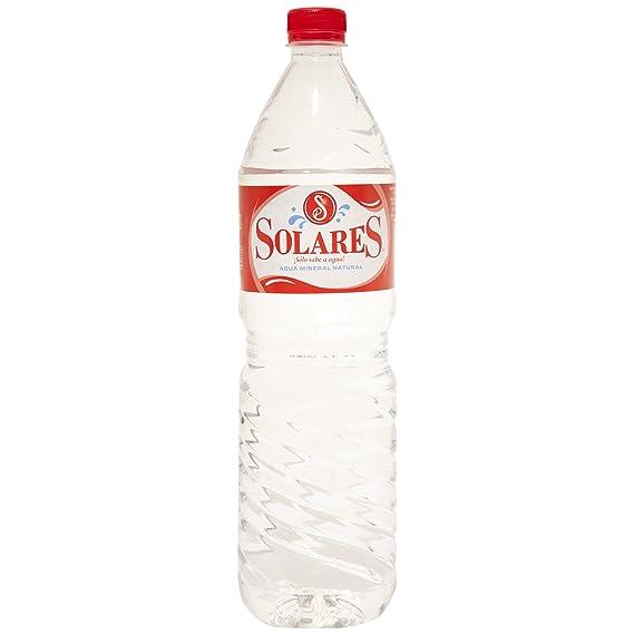 Solares - Agua mineral natural - 1.5L