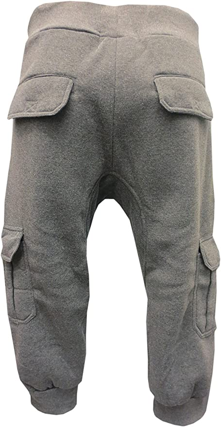 Winwinus Mens Outdoor Multi Pocket Pants Pure Cotton Capri Casual Cargo Pant