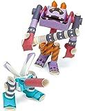 パイプロイド(PIPEROID) モスキュラ&オニデビル 2-in-1 紙工作 ロボット キット
