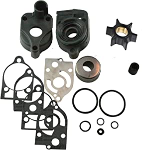 (Compatible With Mercury) Water Pump Rebuild Kit 46-77177A3 Fits MANY 30 35 40 45 50 60 65 70 Hp (See Fitment Chart in Description)