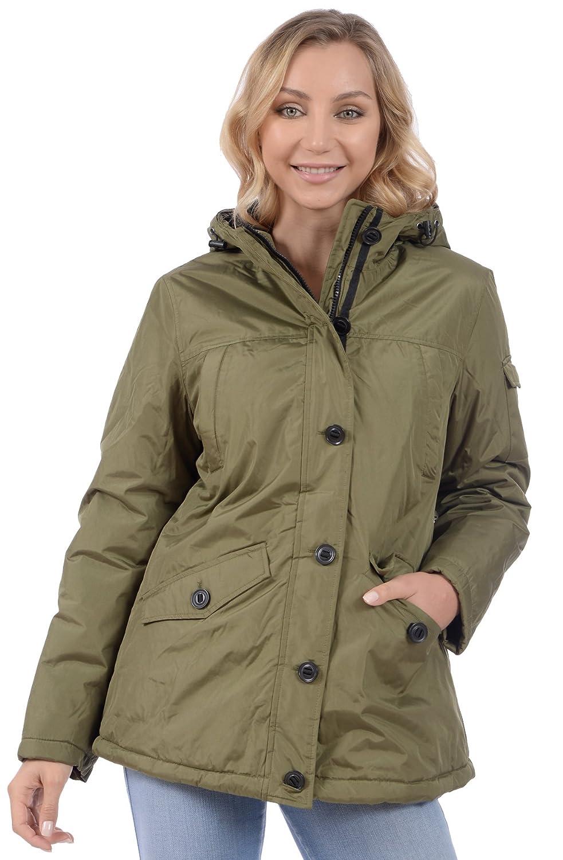 Minus Zero Women's Hooded Polar Lined Quilt Winter Jacket