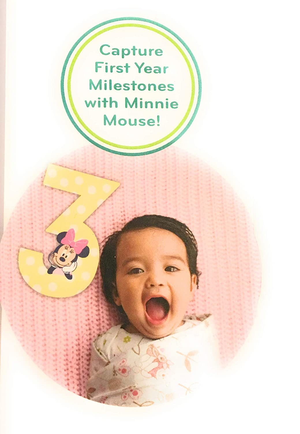 0-12 Months 12 Jumbo Numbers Gift Set Disney Minnie Mouse Milestone Photo Props Photo Sharing Numbers