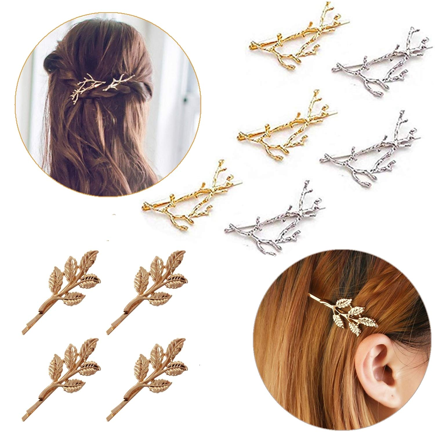 Amazon Com Hair Clip For Women 10 Pcs Hair Barrettes Hair Pins