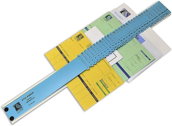 C-Line All-Purpose Document Sorter, 2.5 x 23.5 Inch, Blue (30526)