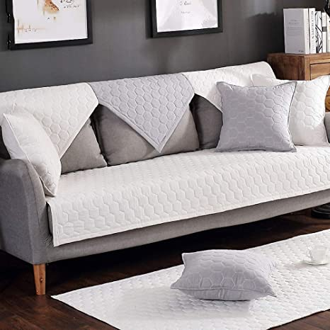 Astonishing Solid Color Non Slip Sofa Towel Cotton Sofa Cover Protector Sofa Cover For Sectional Couch Sofa Cover Pet Protector Sofa Cover Mats White Ibusinesslaw Wood Chair Design Ideas Ibusinesslaworg