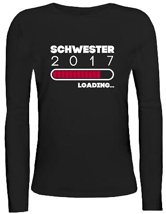 Geschenkidee Damen Longsleeve Langarm T-Shirt mit Schwester 2017 Loading... Motiv  von ShirtStreet: Amazon.de: Bekleidung
