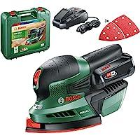 Bosch Home and Garden PSM 18 LI Accu-Multischuurmachine, (1 Accu, 18 Volt-Systeem, In Koffer)