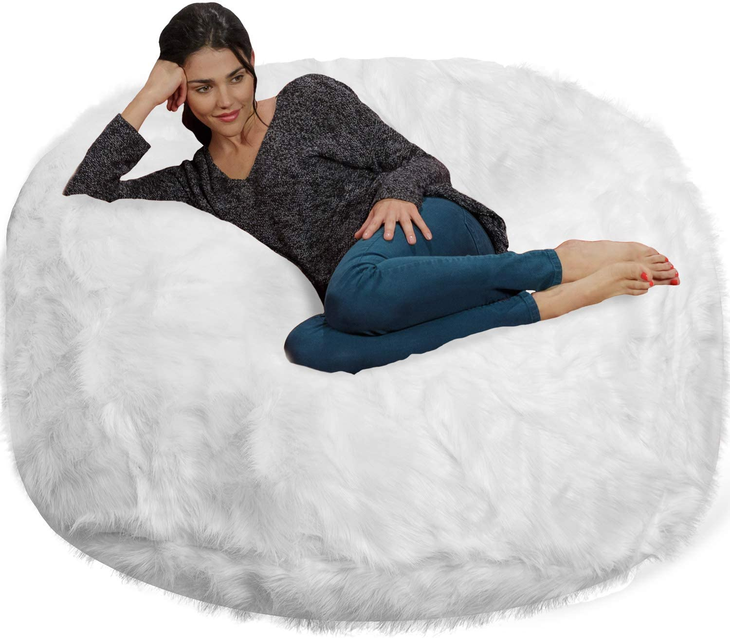 Top 7 Best Luxury Bean Bag Chairs for Adults [Top Picks 2021] 2