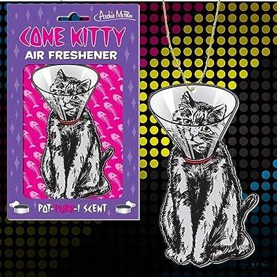 Animewild Cone Kitty Air Freshener: Automotive