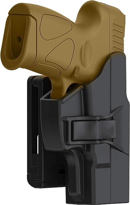 Black Belt Clip Loop Pistol HOLSTER TAURUS MILLENNIUM  PT 111 132 145 ...USA