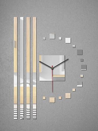 Wanddeko Spiegel amazon de ssitg moderne exklusive wanduhr dekouhr wanduhren