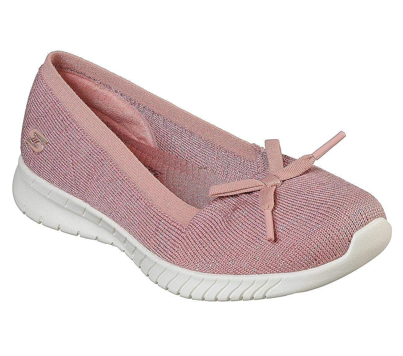 - Skechers Women's Wave-Lite - Sweet Glimmer, Casual, pink, US M