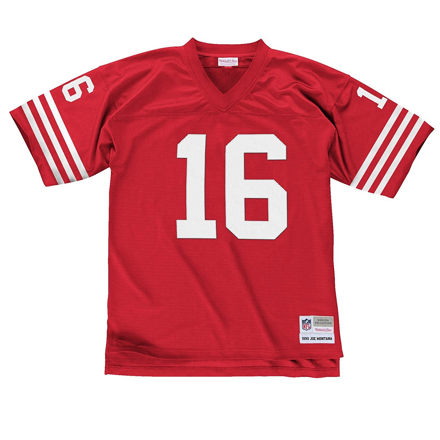 check out 60f44 4fa03 Mitchell & Ness Joe Montana San Francisco 49ers Scarlet Red Throwback Jersey
