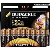 Duracell LR6/MN1500 Plus Power Batterie Alcaline Stilo AA, confezione da 20
