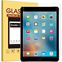 SPARIN Screen Protector Compatible with iPad 6th Generation 9.7 inch, Tempered Glass Compatible with iPad 9.7