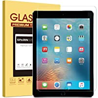 SPARIN Screen Protector for iPad 6th Generation/iPad Pro 9.7 inch (2018/2017), Tempered Glass Compatible with Apple…