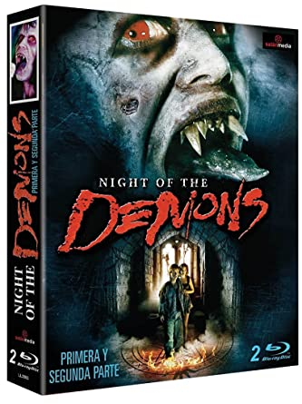 Pack Night of the Demons 1+2 [Blu-ray]: Amazon.es: Hal Havins, Allison Barron, Alvin Alexis, Cristi Harris, Darin Heames, Robert Jayne, Kevin Tenney, Brian Trench, Hal Havins, Allison Barron: Cine y Series TV