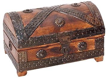 détaillant en ligne d9e28 f0c5c Commode en bois pour trésor de pirate, mini | Pirate coffre au trésor, mini