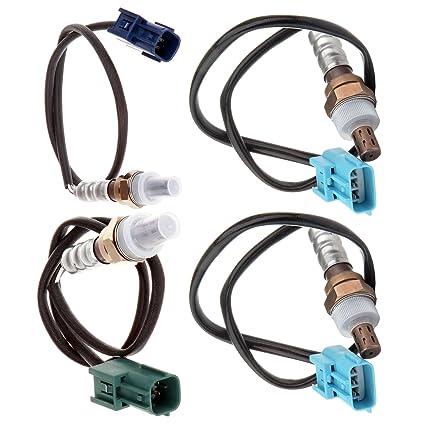 4pcs Upsrteam /& Downstream O2 Oxygen Sensor for 2002 2003 Nissan Maxima 3.5L I35