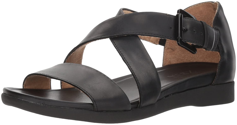 Naturalizer Women's Elliott Flat Sandal B076NY5GYB 5 B(M) US|Black