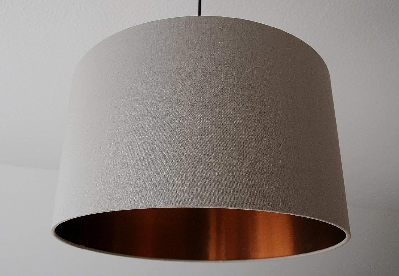 LampenschirmTaupe-Kupfer D 30cm. Farbe und Größe auf Anfrage