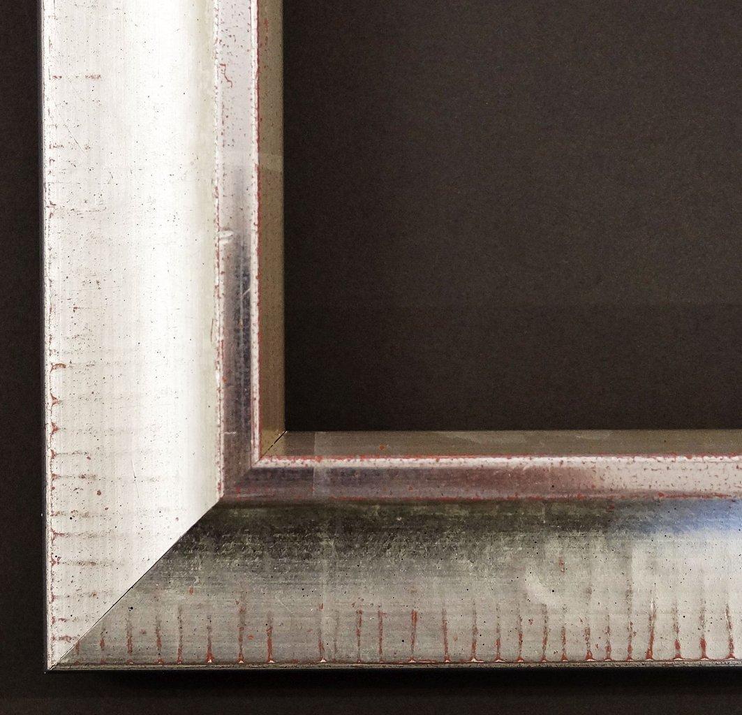 Spiegel Wandspiegel Badspiegel Flurspiegel Garderobenspiegel - Über 200 Größen - Kronach antik Weiß - gold, handgrundiert 4,3 - Außenmaß des Spiegels 100 x 140 - Über 100 Größen zur Auswahl - Wunschmaße auf Anfrage - Modern, Antik