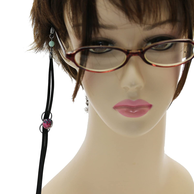 Tamarusan Eyeglasses Holder Strap MenS WomenS Lightweight ite Pink