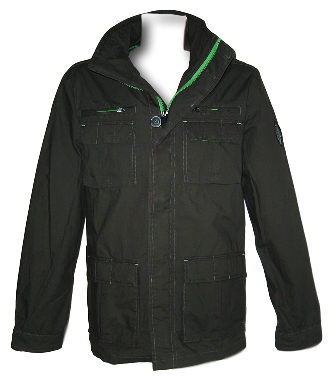 john devin Herren Jacke Fieldjacket Gr S 46 48 Khaki oliv