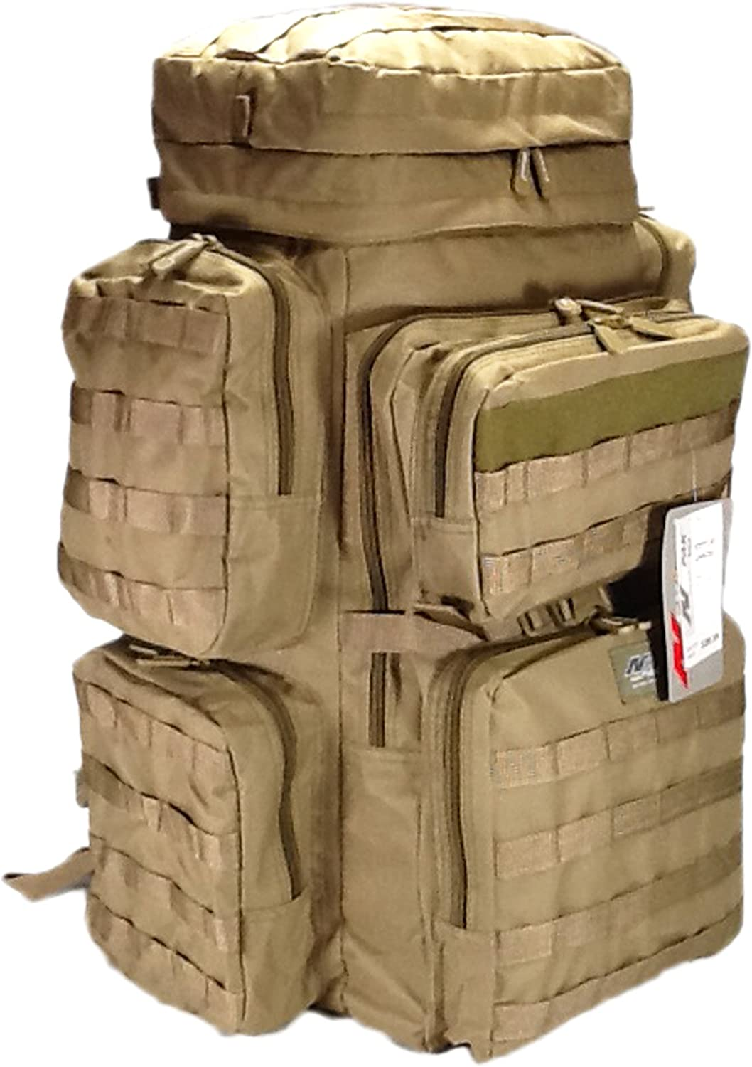 30 4500cu. in. Tactical Hunting Camping Hiking Backpack OP830 TAN