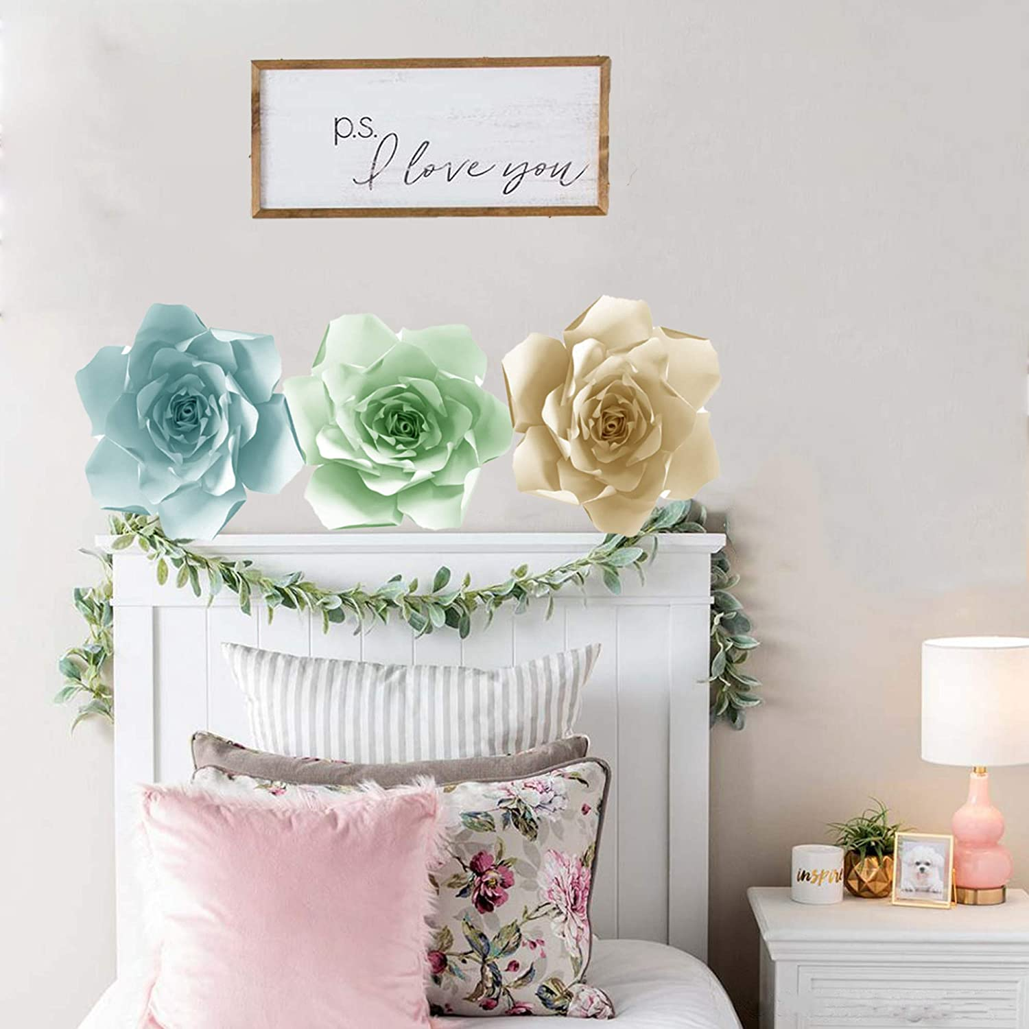 Make Unlimited Flowers Paper Flowers Decorations for Wall Paper Flower Template Kit DIY Do It Yourself Make Your Own Paper Flowers Gardenia Make All Sizes
