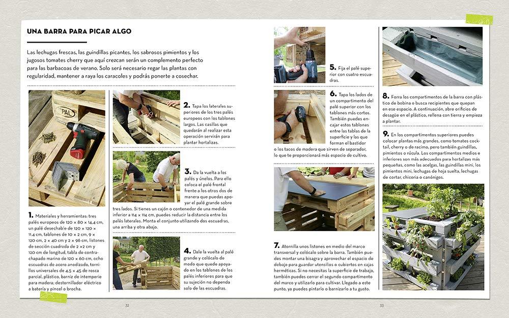 Cómo construir un huerto vertical. 20 proyectos para minijardines ...