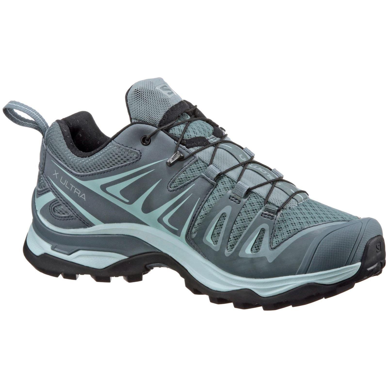 Salomon Women's X Ultra 3 W Trail Running Shoe, Lead, 9.5 M US