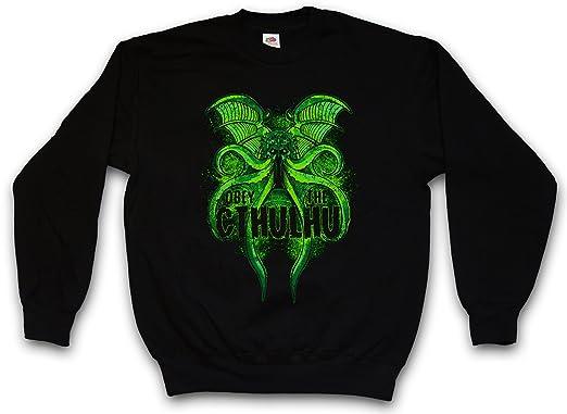 Obey The Cthulhu Sudadera para Hombre Sweatshirt Pullover - Tamaños S - 3XL: Amazon.es: Ropa y accesorios
