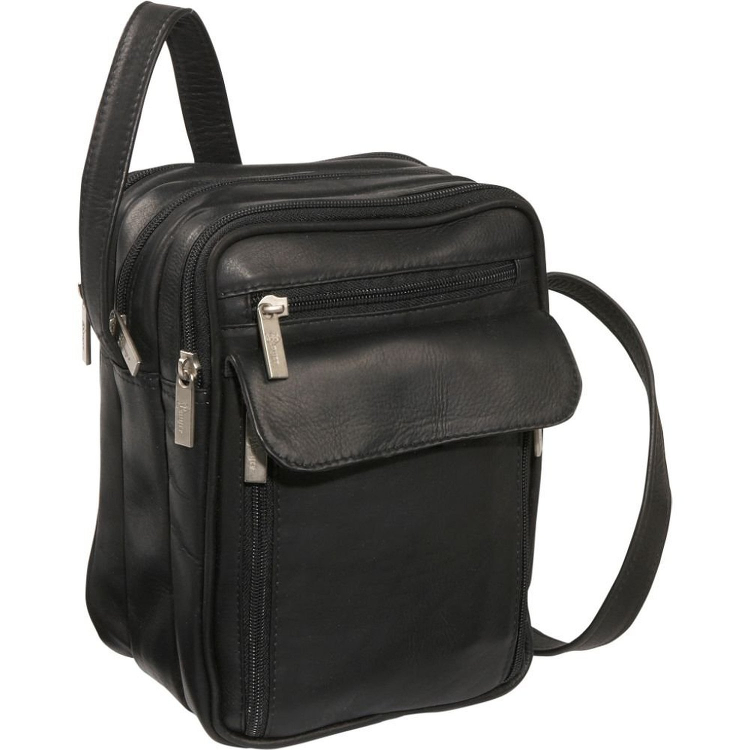 Royce Leather Vaquetta Men's Bag (Black)