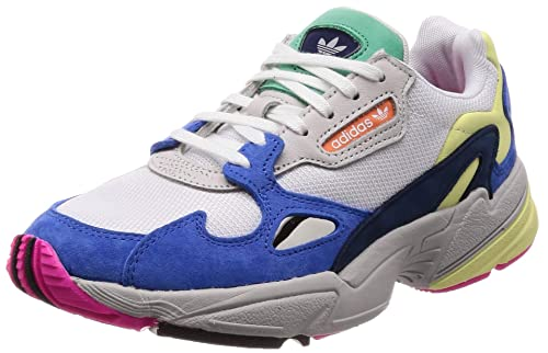 the best attitude 123ed 9a93f Adidas Womens Falcon W FtwwhtBlue Running Shoes-6 UKIndia (39.3