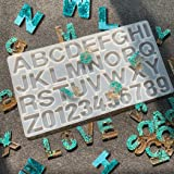 DIY Casting Mold,Outgeek Number Alphabet Jewelry