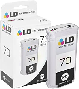 LD Remanufactured Ink Cartridge Replacement for HP 70 C9449A (Photo Black)
